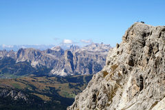 Dolomiti Landschaft Stockfotos