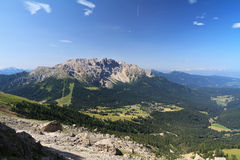 Dolomiti - Latemar mount Royalty Free Stock Photography