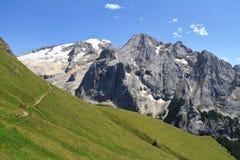 Dolomiti - montagem Marmolada fotografia de stock