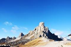 Dolomiti mountain peak in Belluno province Royalty Free Stock Photo