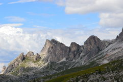 Dolomiti mountain range Stock Image