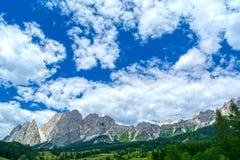 dolomiti mountains стоковое фото