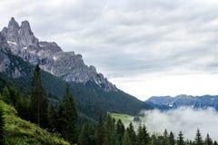 dolomiti mountains 图库摄影