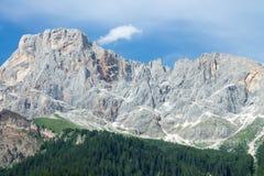 dolomiti mountains 免版税图库摄影