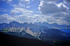 dolomiti mountains Стоковое Изображение