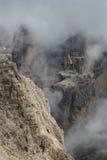 dolomiti mountains 免版税库存图片