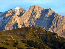Dolomiti mountains Royalty Free Stock Photos