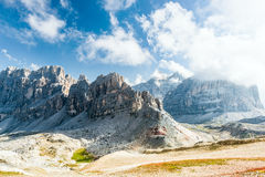 dolomiti mountains 库存照片