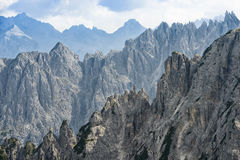 dolomiti mountains 图库摄影