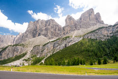 dolomiti mountains Стоковые Фото
