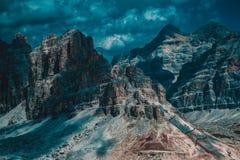 dolomiti mountains Стоковая Фотография