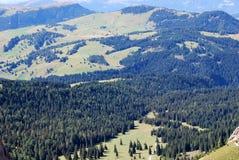 Dolomiti mountains in Italy. panorama Stock Photos