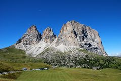 Dolomiti mountains in Italy. panorama Stock Images