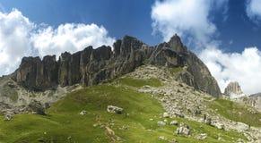 Dolomiti mountains panorama Stock Photo