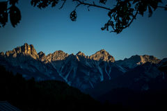 Dolomiti mountains Veneto Italy Stock Photos