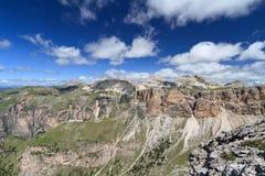 Dolomiti, Odle-Puez massif Stock Image