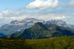 Dolomiti panorama. Italian Summer in Dolomiti mountains Stock Photo