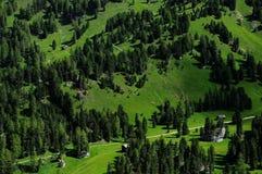 Dolomiti Passo Gardena photos libres de droits