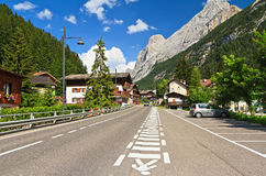 Dolomiti - Penia village in Val di Royalty Free Stock Image