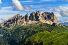 Dolomiti - Sassolungo -Langkofel mount Royalty Free Stock Photos