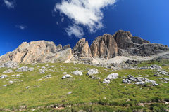 Dolomiti - Sassopiatto group Royalty Free Stock Photos