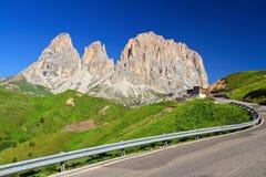 Dolomiti - Sella pass Royalty Free Stock Images