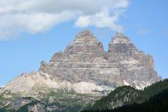 Dolomiti, Tre - Cime Di Lavaredo Zdjęcia Stock