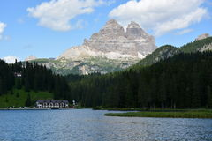 Dolomiti - Tre Cime di Lavaredo Lizenzfreies Stockbild