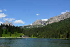 Dolomiti - Tre Cime di Lavaredo 免版税库存图片