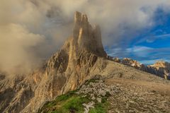 Dolomiti - the Vajolet towers Royalty Free Stock Photography