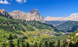 Dolomiti, Val - Badia Fotografia Royalty Free