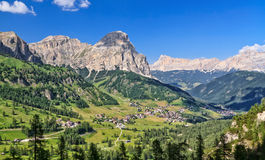 Dolomiti - Val Badia Royalty Free Stock Photography