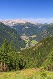 Dolomiti - Val di Fassa fotografia stock libera da diritti