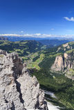 Dolomiti - Val Gardena Stock Photography