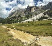 Dolomiti, Val Venegia panorama Stock Image