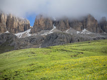 Dolomitic panorama Stock Images