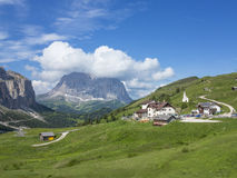 Dolomitic pass Royalty Free Stock Photos