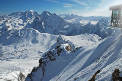 Dolomities, Dolomiti - Italy in wintertime Stock Images