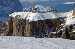 Dolomities, Dolomiti - Italy in wintertime Stock Photo