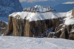 Dolomities, Dolomiti - Italy in wintertime Stock Photo