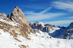 Dolomities - Italy. In wintertime Stock Image