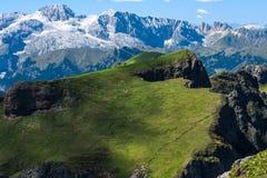 Dolomities - Marmolada стоковое изображение rf