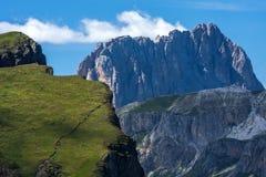 Dolomities - Sassolungo foto de archivo libre de regalías