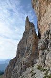 Dolomitpfad Stockbilder