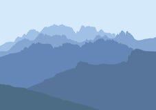 Dolomits delle montagne Fotografia Stock