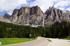 Dolomitu krajobraz. Włochy obrazy royalty free