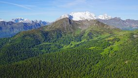 Dolomitu krajobraz. Włochy zdjęcie royalty free