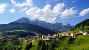 Dolomitu krajobraz. Włochy fotografia stock