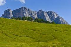 Dolomity góry Stevia - Włochy Zdjęcie Royalty Free