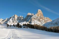 Dolomity, Północny Włochy fotografia royalty free